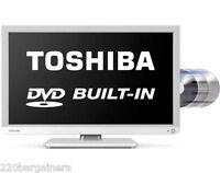 Toshiba 24 Multi System Led Tv Dvd Combo Pal Ntsc 110 220 Volt 110v 220v