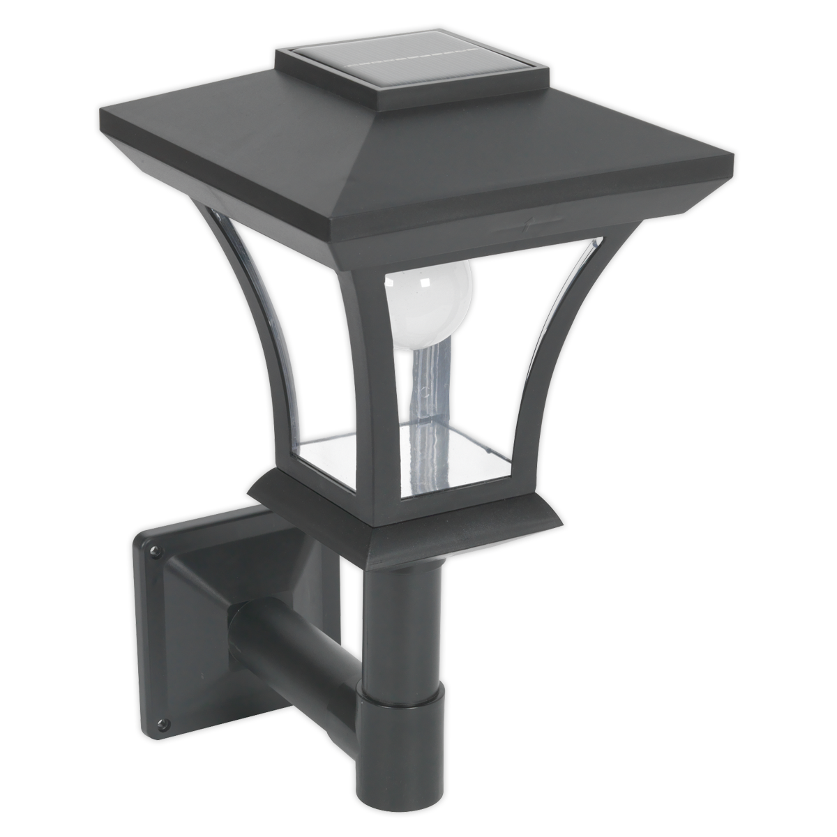 - Solar Powerot LED Garden Lamp Wall Mounting SEALEY GL61 by Sealey