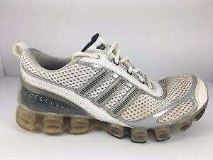 Us bianco da argento Bounce atletiche Adidas Scarpe 5 ginnastica Men 7 qwBYnPES