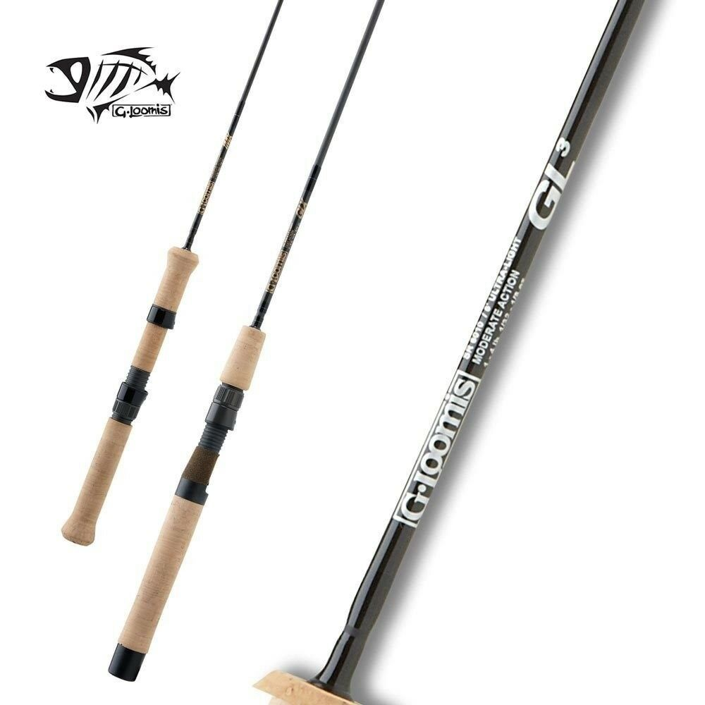 G LOOMIS Trucha & Panfish Spinning Rod SR843-2 GL3 7' 0  medio 2pc