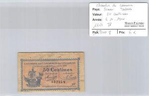 -kammer Handels- De Toulouse 50 Cent 6.11.1914 Pirot 8 Eine Hohe Bewunderung Gewinnen