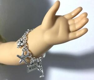 Mermaid-Charm-Bracelet-for-18-inch-Doll-Jewelry-Accessories-fit-American-Girl