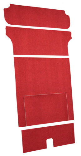 5pc Cargo Area -Loop  2DR 1955 Chevy Bel Air Nomad Carpet Wagon