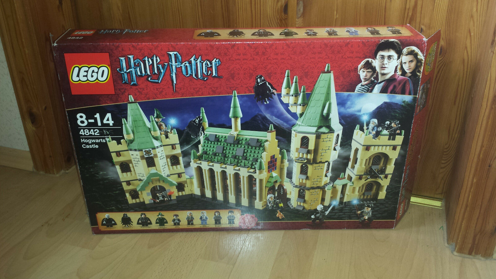 Lego Harry Potter 4842     Schloß Hogwarts  mit OVP und BA Komplett 5b4e7a