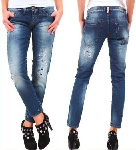 Jeans women Pantaloni SEXY WOMAN A616 Tg 26 27 28 29 30 veste piccolo