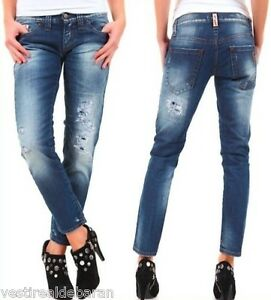 Jeans-Donna-Pantaloni-SEXY-WOMAN-Made-in-Italy-A616-Tg-26-27-28-29-30