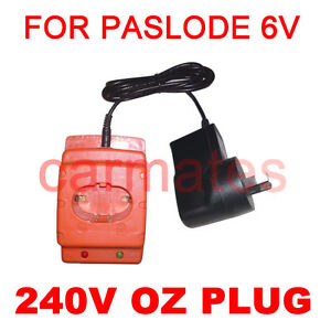 Battery Charger For Paslode 6v Framing Nailer Gun 902200