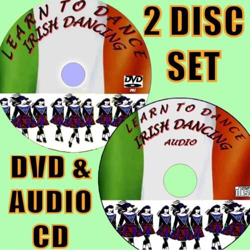 Beginners Guide Irish Dancing Rollen /& Vorrichtungen Tanz Schritt für DVD+CD