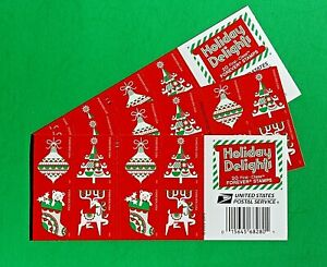 Holiday Delights Forever Stamps - 60 Christmas Stamps at BELOW FACE VALUE!