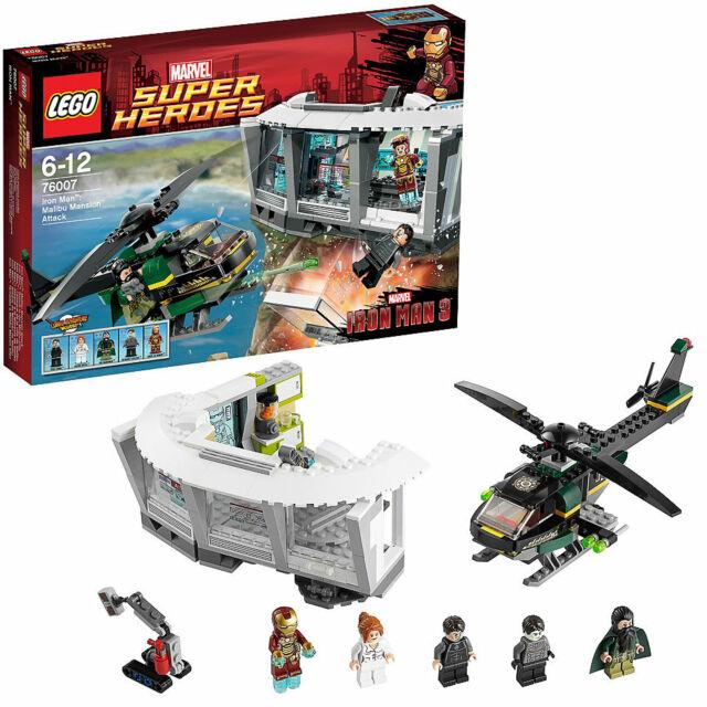 LEGO 76007 DC Super Heroes - Iron Man : Malibu Mansion Attack [NEW]