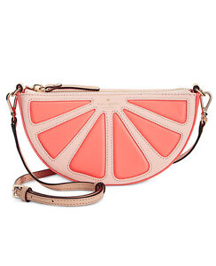Image Is Loading Kate Spade Gfruit Slice Crossbody Bag Pink Citrus