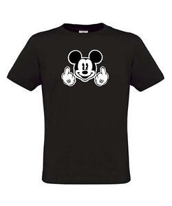 Mickey-Mouse-Funny-DISNEY-PUB-Work-Fun-Holiday-Paris-Floride-Disneyland-S-M-L-XL
