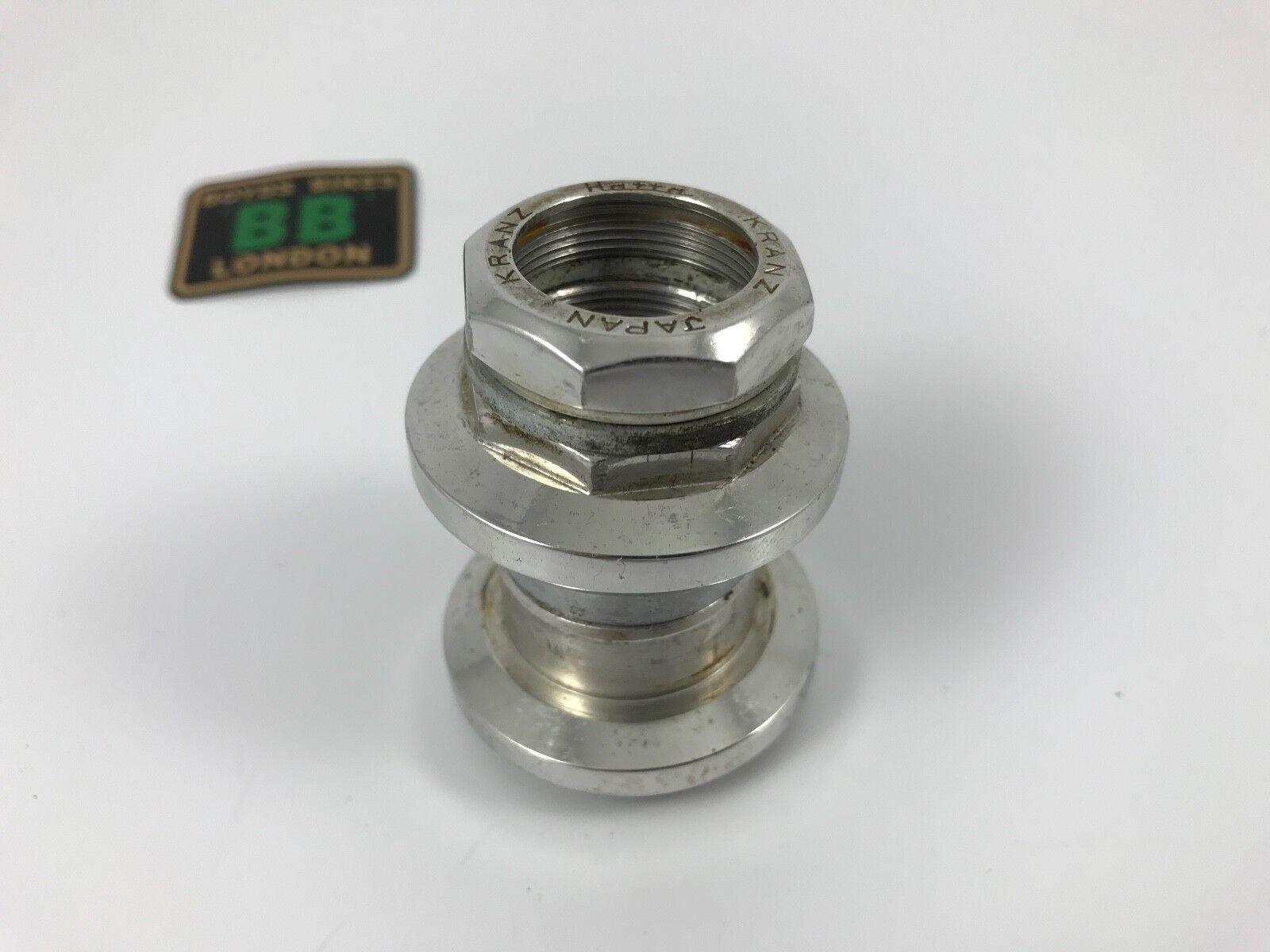 Auriculares de aleación de aluminio Hatta Kranz JIS 1  roscada 30.0 27.0 - Japón Retro años 80