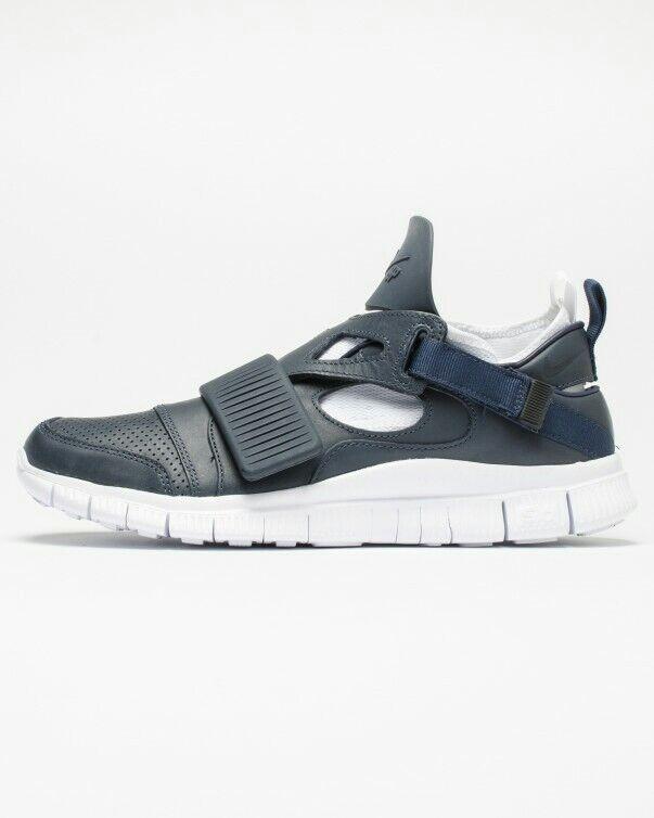 Nike NIKELAB Free et Huarache Carnivore SP obsidienne bleu et Free blanc 58e9d7