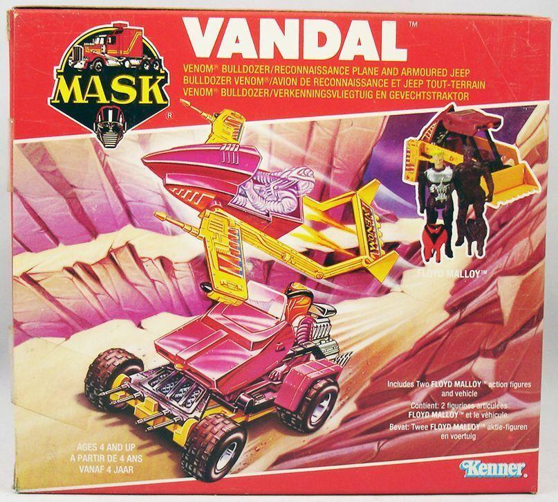 M.A.S.K. - Vandal avec Floyd Malloy & Hologramme (Europe)