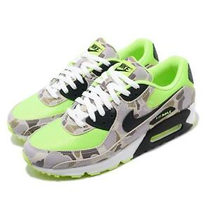 Details about Nike Air Max 90 SP Ghost Green Duck Camo Volt Black Men Fashion Shoes CW4039-300