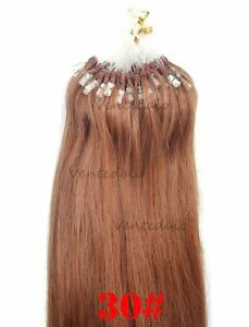 50-200-HAIR-EXTENSIONS-INSTALLATION-COLD-EASY-LOOP-NATURAL-53CM-RED-30-AAA