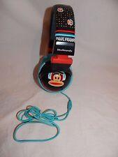 Skullcandy Hesh Paul Frank Monkey Headphones Black and Blue