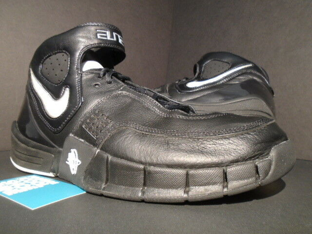 2006 NIKE ZOOM AIR HUARACHE ELITE TB BLACK WHITE CHROME SILVER 2K5 314183-010 11