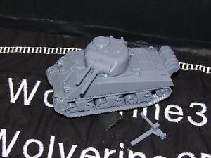 Flames Of War USA 1/100 M4A3 R3 Sherman Zippo Tank 15mm FREE SHIPPING