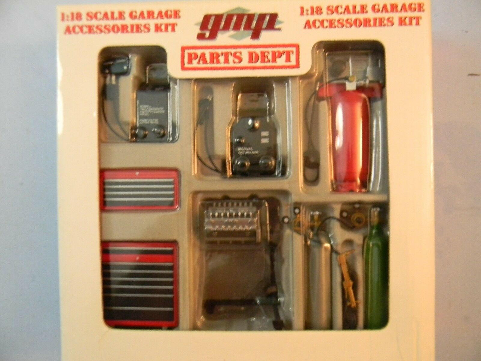 1 18 Scale GMP Parts Department Garage Accessory Kit