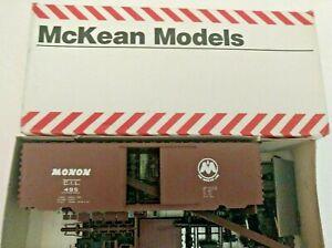 HO-Scale-McKean-Master-series-40-039-PS-1-Boxcar-MONON-CIL-495