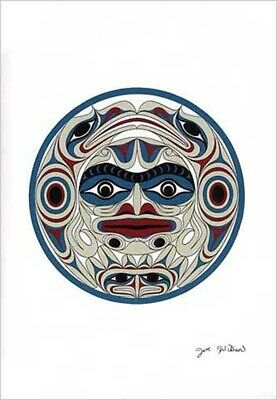 """11/"""" x 14/"""" Matted print K/'omoks Details about  /PASSING BY /""""Loon/"""" Kwakwaka/'wk  Andy Everson"""