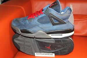 Used Nike Air Jordan 4 Retro size 10 IV eminem encore blue shady ... 8f245c654