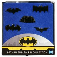 Batman Batman Emblem Black Chrome Pin Collection Iko1508 Ikon Collectables