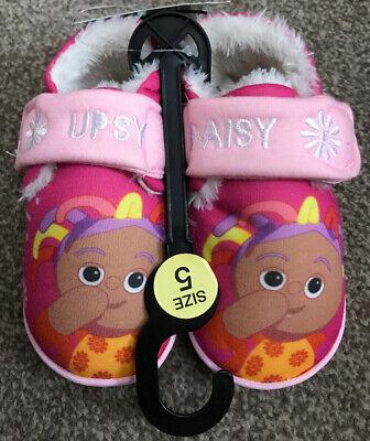 In The Night Garden Upsy Daisy Slippers Size 5 BNWT