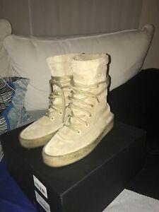 972255ba4 Yeezy Season 2 Crepe Boot Size US 7 40 Taupe Suede Kanye West 100 ...