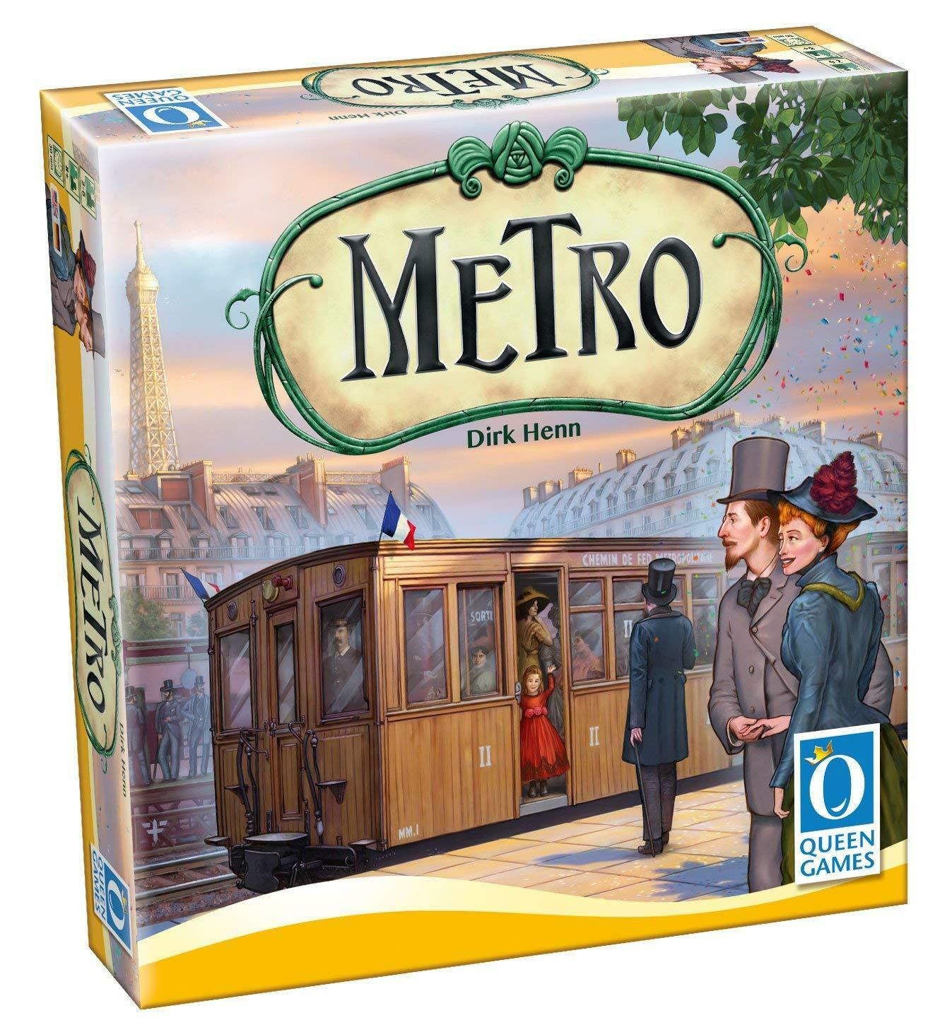 METRO. By Dirk Henn.Queen Games. New and sealed.