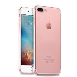 Fuer-iPhone-8-Plus-7-Plus-Durchsichtig-Protection-Silikon-Huelle-Schutzhuelle-Case