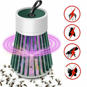 Mosquito Killer LED Light Lamp USB Electronic Fly Bug Insect Zapper Trap Pest