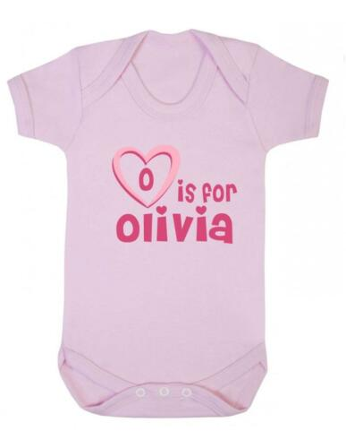 O Is For Olivia Olivia Baby Bodysuit Baby Vest Playsuit