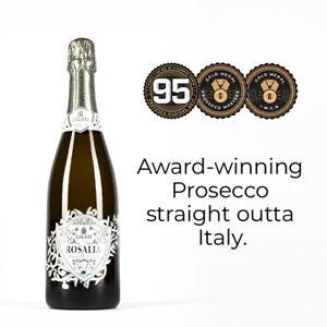 Giusti Rosalia Prosecco DOC NV Sparkling Wine pack of 12
