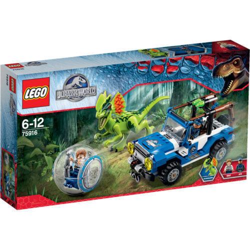 Lego ® 75916 sobre caso del dilofosaurio Ambush nuevo en el embalaje original
