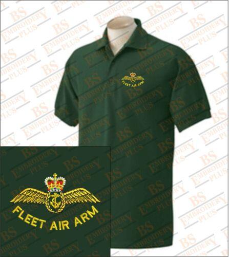 Air Fleet Air bordado Arm Polo Fleet 060OqwEr7
