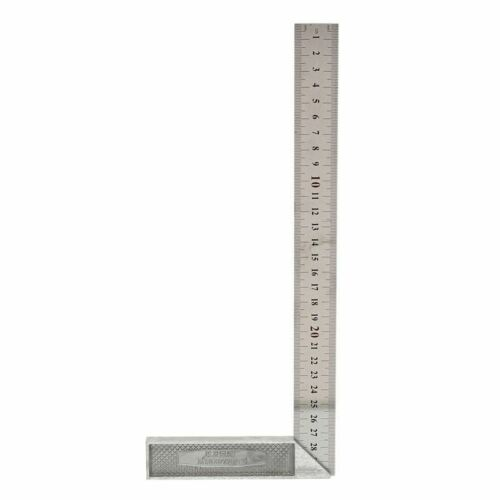 30cm//12 inch Metal Engineers Try Square Set Measurement Tool Right Angle 90 Q7V8