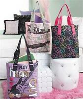 Trendy Book Tote Bag W/colorful Graphics Inside Zip Pocket Sturdy Buckle Handles