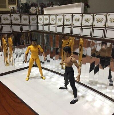 Contemplativo Hp-mra: Figlot Paper-craft Diorama - Specchio Rooma A Per Shf Bruce Lee Figure Adatto Per Uomini E Donne Di Tutte Le Età In Tutte Le Stagioni