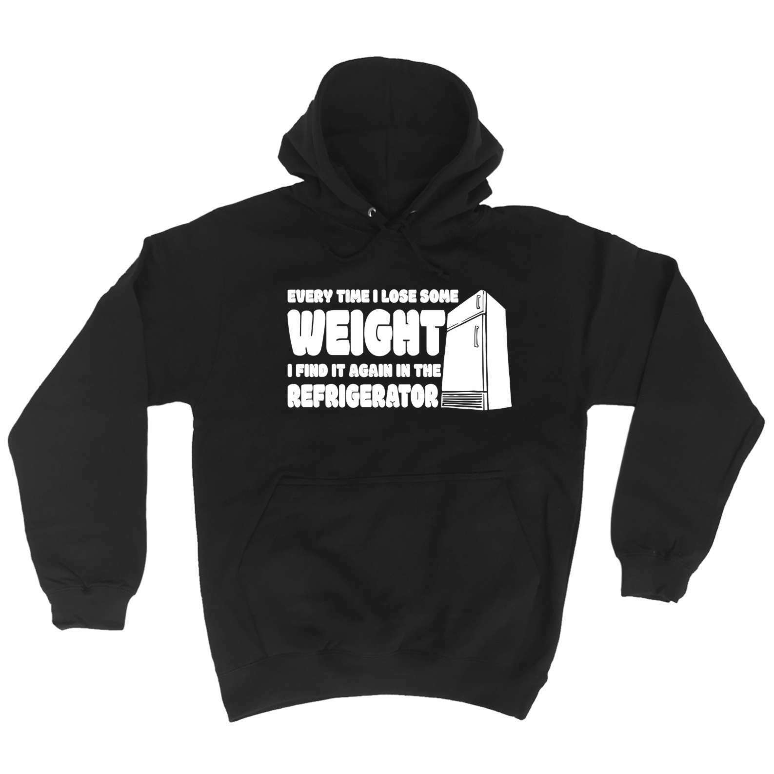 Every Time I Lose Some Weight I Find It Again Funny Joke Plus Sized HOODIE