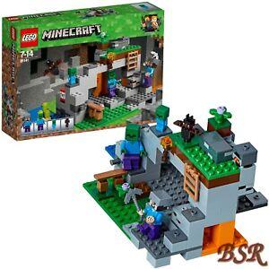Lego-Minecraft-21141-Zombiehohle-amp-Livraison-amp-Neuf-amp-Emballage-D-039-Origine