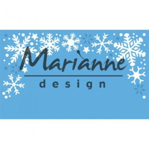 Marianne Design Creatables Cutting /& Embossing Die Snowflakes Border LR0498
