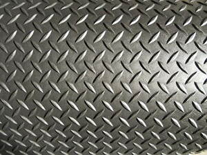 3 16 Quot Diamond Plate Durable Poly Rubber Mat Flooring Ebay