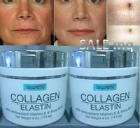 Collagen Elastin Cream, 8 Oz With Vitamin E Antioxidant Colageno Hydro Colagina