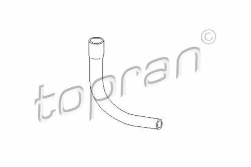 Topran Schlauch Zylinderkopfhaubenentlüftung 206 557 für OPEL