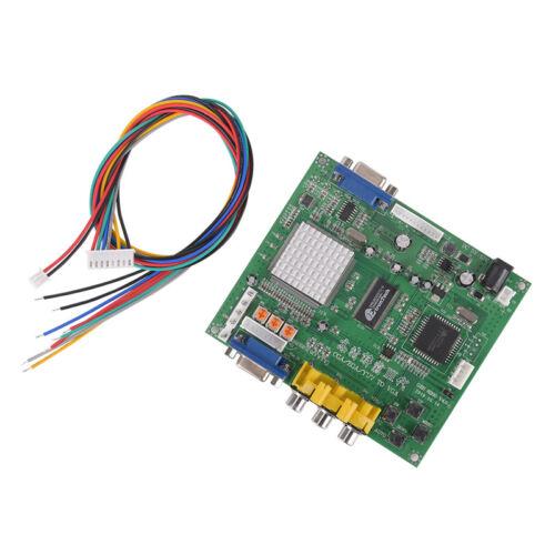 Arcade Game RGB//CGA//EGA//YUV to VGA HD Video Converter Board HD9800//GBS8200 EP 27