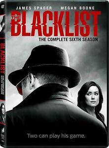 THE-BLACKLIST-SEASON-6-BRAND-NEW-SEALED-THE-COMPLETE-SIXTH-SEASON-DVD-DRAMA