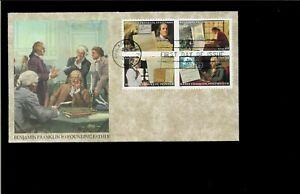 2006-FDC-Benjamin-Franklin-Philadelpjia-PA